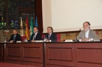 De izquierda a derecha, Enrique Quesada, José Carlos Gómez Villamandos, Alfonso García- Ferrer y Rafael Navarro.