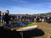 Un momento de la presentación de Innolivar durante el Farming Day celebrado en Rabanales.