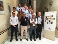 Foto de familia del grupo de la primera reunión operativa del proyecto