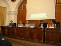 De izq a dcha:Juan de Dios Torralbo, Bernd Dietz, Carmen Galán, Sunil Lal y Antonia Navarro