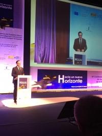El rector José Carlos Gómez Villamandos, en un momento de su intervención.