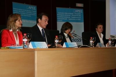 De izq a dcha. Aurelia Calzada, Jose Carlos Gómez, Mercedes Chacón y Elena Cortés