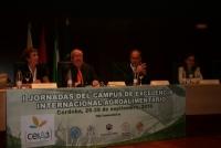Isabel González, Enrique Aguilar, Juan José Ruiz y María José Polo