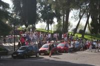 Los estudiantes de nuevo ingreso se dirigen a sus centros tras la sesion informativa en el salon de actos Juan XXIII de Rabanales