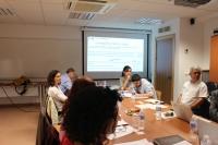 Reunión de trabajo del grupo que trabaja en el proyecto europeo que coordina Pilar Dorado