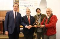 Presentación del I Premio Sísifo, en enero de 2016