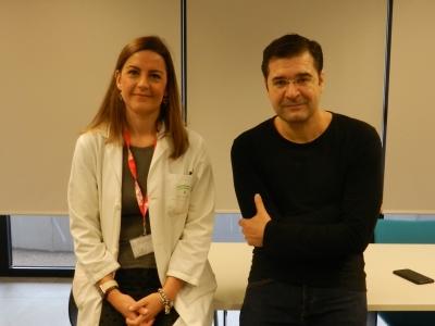 Dos de los investigadores que han participado en el estudio.