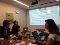La investigadora Julia Rodríguez presenta en Harvard el proyecto 'Córdoba con ojos de Ciencia'.