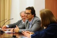José Ignacio Torreblanca en un momento de su conferencia.