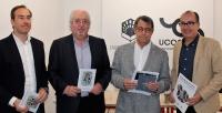 De izqueirda a derecha, Blas Sánchez, Ángel Luis Prieto, Juan Pastor y José Álvarez.