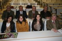 Algunas de las alumnas y profesores participantes