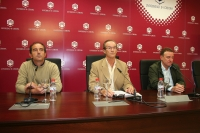 De izqda. a dcha. Iñaki López Murga, Manuel Guillén del Castillo y Javier Zubillaga