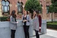 Las tres investigadoras responsables de los estudios. De izquierda a derecha, Ángela López, Sol Cárdenas y Beatriz Fresco