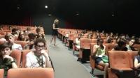 Imagen de una de las actividades de la UCCi realizada en la Filmoteca de Andalucía.