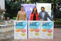 De izquierda a derecha, Martín Torralbo, Felisa Cañete y Manuel Bermúdez, en la presentación del torneo