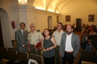 Autoridades, en la inauguración del curso