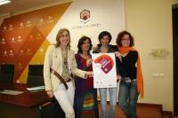 De izq a dcha Carmen Blanco, Dolores Amores, Marta Domínguez y Mar Montávez
