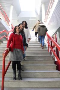 Las investigadoras de la UCO Rosario Ortega, Carmen Viejo y Mercedes Gómez
