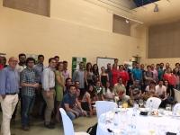 Imagen de grupo de participantes en el III Desayuno de la ETSIAM
