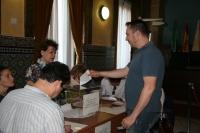 Un momento de las votaciones