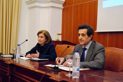 María Dolores Muñoz Dueñas y Manuel Blázquez