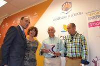 De izq a dcha, Antonio Rojas, Arantxa De Lucas, Jose Matas y Francisco Viana