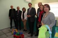 Autoridades asistentes a la inauguración de las nuevas dependencias del CAIT de la Universidad de Córdoba