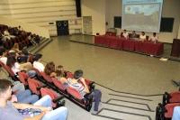 Jornada de Acogida al alumnado de Veterinaria celebrada esta mañana en el Aula Magna de Rabanales