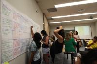 Un momento de la clausura del proyecto Turismo Responsable Solidario en Andalucía
