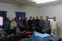 Participantes en uno de los cursos impartidos por el Grupo rupo de Cooperación de las TICs