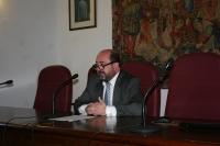 Manuel Torres , durante su intervención