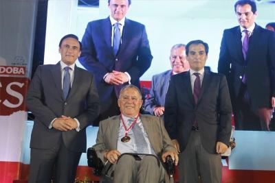 Enrique Aguilar, junto a José Carlos Gómez Villamandos y José Antonio Nieto