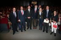 Autoridades asistentes a la apertura de curso de los másteres