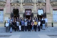 Foto de familia de todos los participantes en el II Congreso de Investigadores Noveles