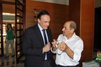 José Carlos Gómez Villamandos y Cristóbal Alférez