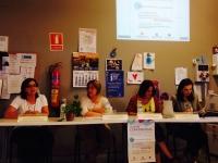 Un momento de la conferencia impartida en La Carlota.