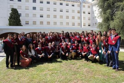 Foto de familia de los colegias