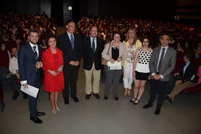 Autoridades asistentes a la inauguración del Congreso
