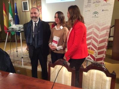 De izquierda a derecha, Fernando Reinares, Carola García-Calvo y Cristina Coca