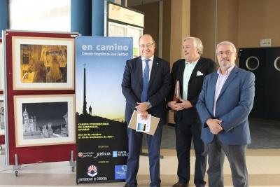 De izq. a dcha. Antonio Cubero, José Manuel Recio e Isidro Rodríguez