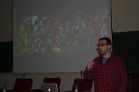 Sergio Palacios, durante su intervención