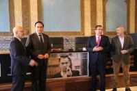 De izquierda a derecha, Jesús Vigorra, José Carlos Gómez Villamandos, Antonio Pulido y Arturo Pérez-Reverte