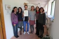 Miembros del Área de Cooperación y Solidaridad