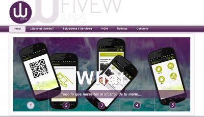 Así se presenta FiveWapps en internet