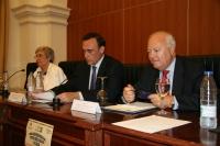 María José Porro, José Carlos Gómez y Miguel Ángel Moratinos