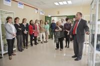 Juan Antonio Caballero explica algunos aspectos de la muestra