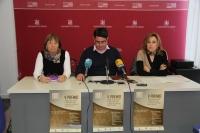 De izquierda a derecha, Mercedes Osuna, Pedro García y Rosario Mérida.