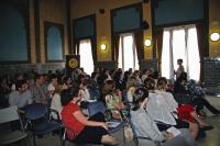 Imagen de la Sala Mudéjar durante la impartición del curso