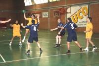 Un encuentro del equipo de balonmano de la UCO subcampeón de Andalucia 2012