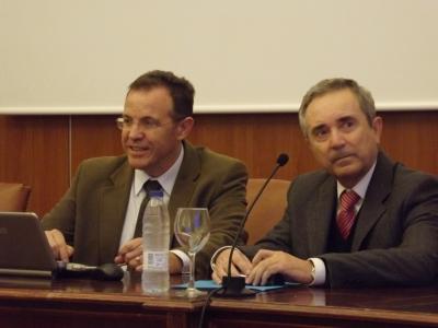 Eulalio Fernández (izq) y Francisco Montes